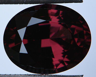 4.40 Cts Certified Natural Unheated Cushion Cut Ceylon Red Spinel Gemstone