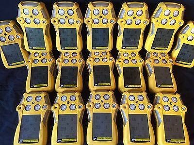 BW GasAlert Quattro Multi Gas Monitor Detector Meter O2 CO H2S LEL NEW OXY