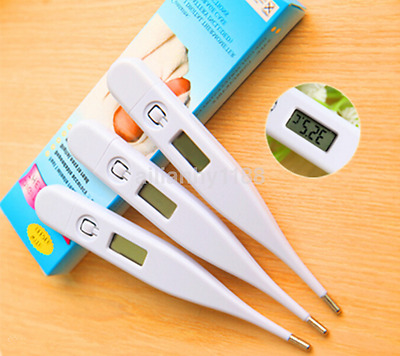 1pc Electronic Digital Temperature mercury thermometer LCD Kids Baby Display CA