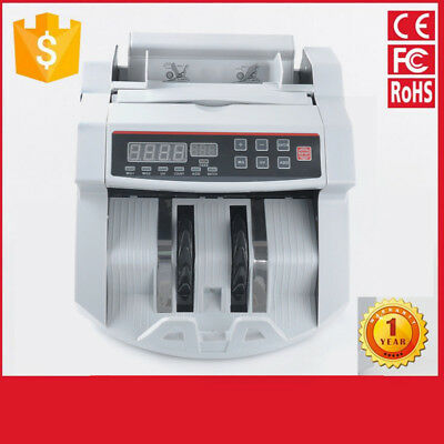 New Money Cash Counter Bank Machine Currency Counting Uv & Mg Counterfeit