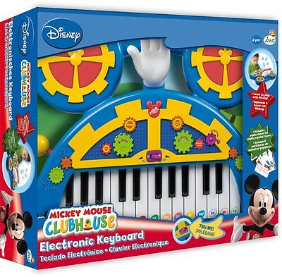 Mickey Mouse Clubhouse Electronic Keyboard - 180147 - NEW