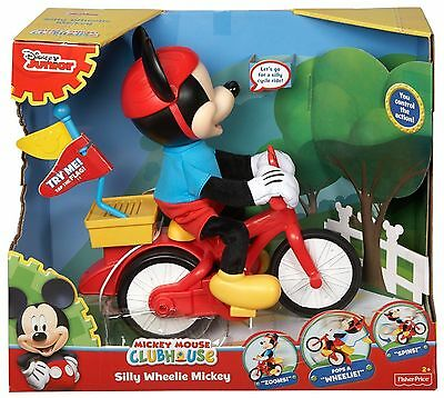 Mickey Mouse Clubhouse Silly Wheelie Mickey - CJF04 - New