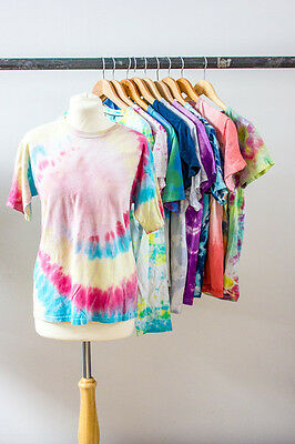 Job Lot 10 X Tie Dye T'shirts Tops