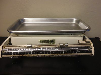 VTG Midcentury ATOM W.Germany Sliging Weight Balance Beam Grocery Scale