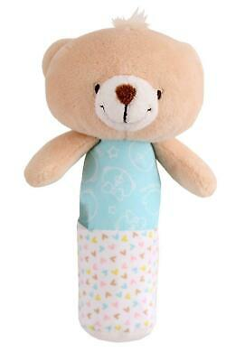 My First Forever Friends - Baby Squeaker Bear  - Blue - 1939 - New