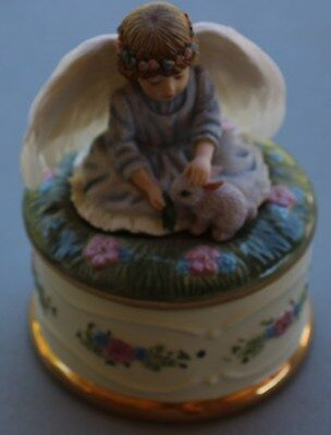"""Angel Music Box """"Angel's Devotion""""; The Hamilton Collection (#A1553)"""