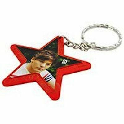 One Direction Interactive Jewellery - Star Keyring - Orange - Louis - New