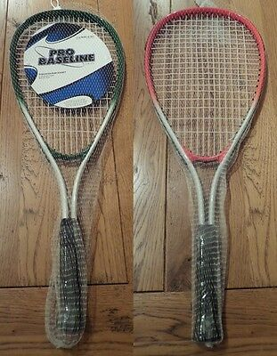 Pro Baseline Squash Racquet aluminium Frame Weight 200g red/white or green/white