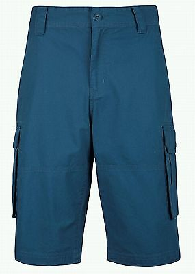 Mens Mountain Warehouse Textured Mens Cargo Combat Summer Shorts Size 30 SMALL