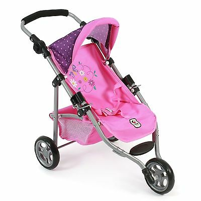 Bayer Chic 2000 Jogging-Buggy Lola Dots Purple-Pink TOP