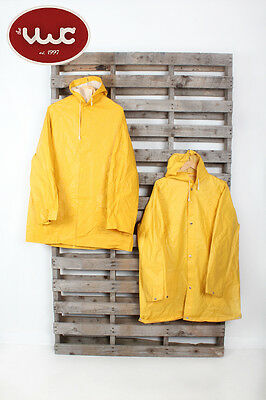 VINTAGE WHOLESALE JOBLOT Men's Yellow Fishing Waterproof Rain coat Mix x 10