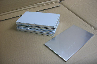 "10 Pc Lot Aluminum Sheet 5052-H32 .125 1/8"" 6"" X 12"" Clean Strong Durable"
