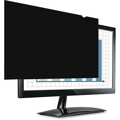 New Genuine Fellowes 24-Inch Screen Privacy Filter - Black (4801601)