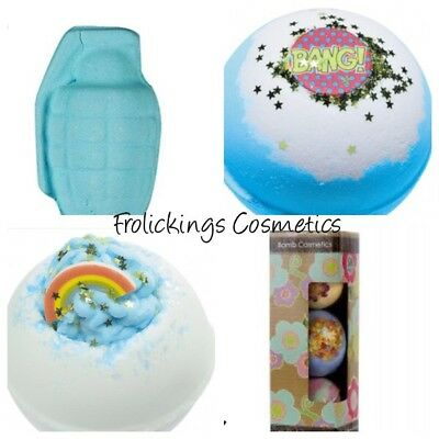 Bomb Cosmetics Bath Bombs With Free Gift Box One For Big & Little Boys