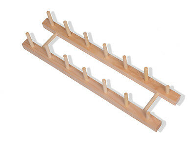 Wooden Dish Plate Drainer Rack Holder Stand Plates Drying Storage Kitchen Tools