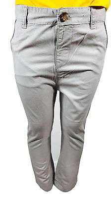 Boys Lcwaikiki 100% Cotton Beige Chino Trousers Pant Toddler Summer Baby 3M - 4Y