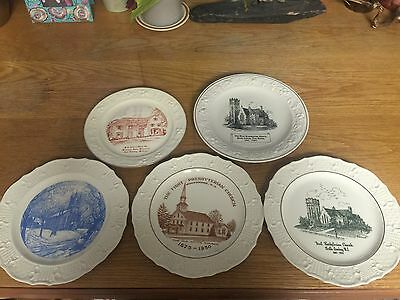 SET OF 5 Limited Edition PLATE COLLECTION
