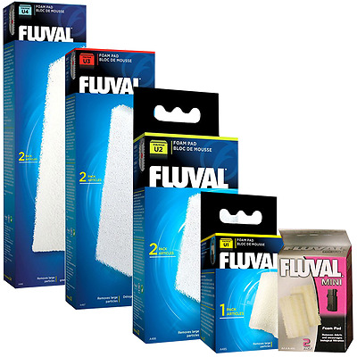 Fluval Replacement Filter Foam Pads for Mini, U1, U2, U3 & U4 Underwater Filters