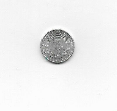 East Germany Coin, 1971, 50 Pfennig, circulated