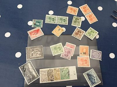 Luxembourg stock card stamps mostly from earlier period mint and used