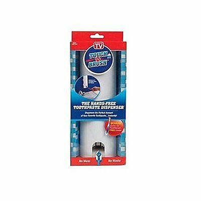 Touch N Brush Hands-Free Toothpaste Dispenser As Seen On TV  White NEW  (H1)
