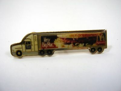 Vintage Collectible Pin: Very Big Mac Truck McDonalds