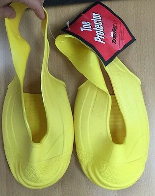 Total Fire Group Yellow Rubber Toe Protector Training Slip On Boot Mens S