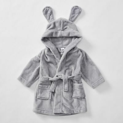 NEW Baby Dressing Gown With Bunny Ears Kids