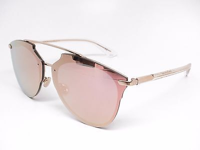 8b2d6a2a6ab Christian Dior Reflected P S5ZRG Gold Crystal Pixel Pixelated Sunglasses