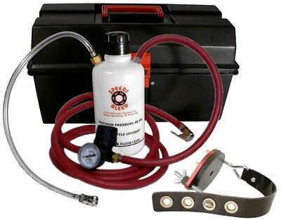 One Man Brake Bleeder PRO Kit with Round Adapter for Domestic Vehicles Universal