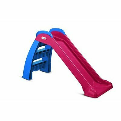 Slide First Red Blue Little Tikes Kids New Outdoor Indoor Play Toddler Toy Fun