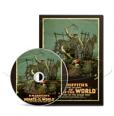 Hearts of the World (1918) Drama, War, Silent Film / Movie on DVD