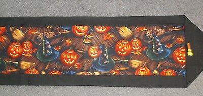 Halloween Handmade Table Runners:  10 To Choose From