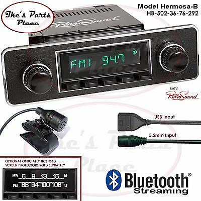 RetroSound Hermosa-B Radio/Bluetooth/USB/Mp3/3.5mm AUX-In 4 ipod-502-36-Euro-BMW