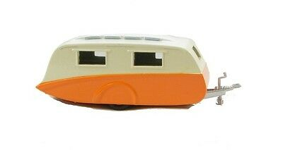 N scale Trailer - Camper - Orange