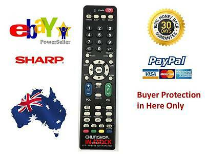Remote Control For Sharp Aquos LCD TV LC32D77X LC42D77X LC46D77X LC52D77X