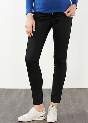 NEW - Esprit - Slim Fit Stretch Trousers in Black - Maternity Pants