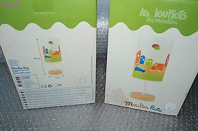 Super Lot de 2 Lampes Chevet Les Loupiots ♥ MOULIN ROTY ♥ 100% Neuves original