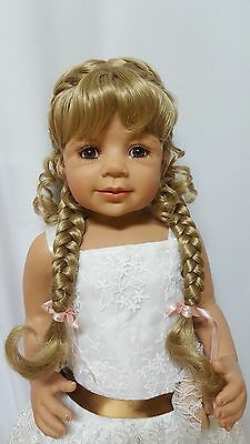 "NWT Monique Violet Blonde Doll Wig 16-17"" fits Masterpiece Doll(WIG ONLY)"