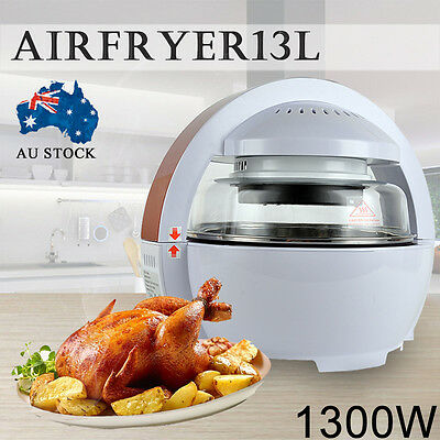 NEW Air Fryer Oven Cooker 13L LCD Digital Space 1300W Low Fat Oil Free Healthy