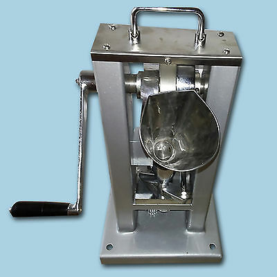 Manual Type Pill Making Machine Single Punch Tablet Press with Hopper