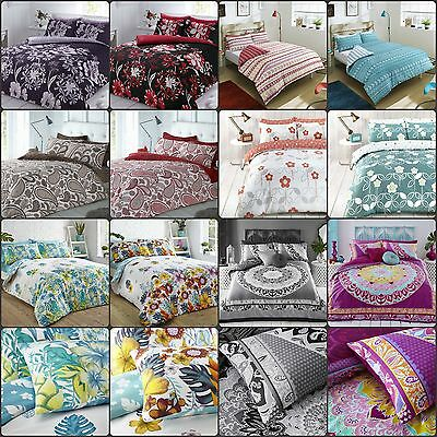 Pieridae Duvet Cover with Pillow Case Quilt Bedding Set Single Double King Super