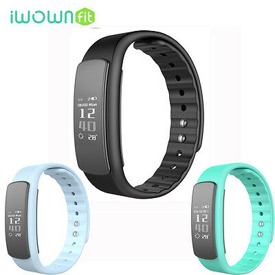 IWOWN I6 hr IP67 Impermeable Deporte Bluetooth Smart Watch Band Para Android IOS
