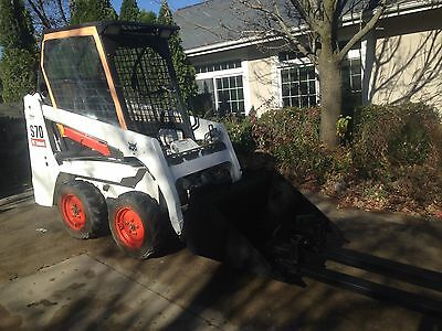 Bobcat S70 skid steer 2008