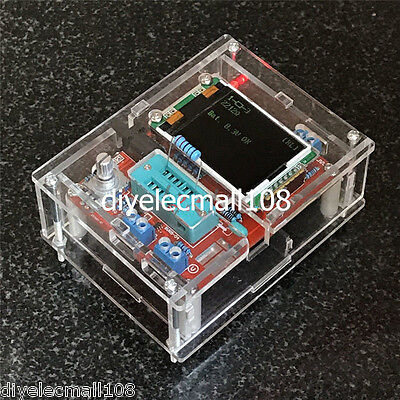 New Case Cover Shell for TFT GM328 Transistor Tester Diode LCR ESR Meter PWM