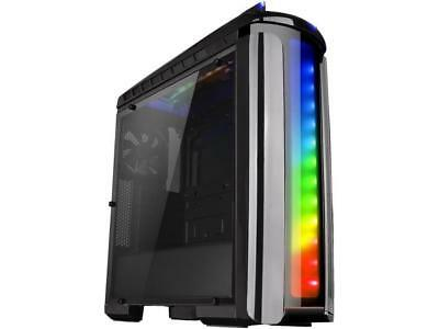 Thermaltake Versa C22 RGB ATX Gaming Mid Tower Black Computer Case CA-1G9-00M1WN