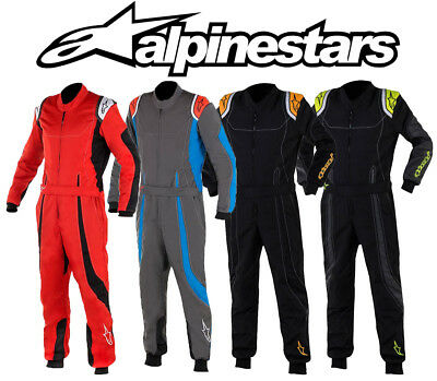 Alpinestars KMX-9 S Kart Suit, Autograss, CIK FIA Level 2 - Youth Sizes Colours