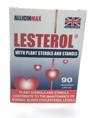 Allicin-Max Lesterol With Plant Sterols & Allicin & Stanols 90 Veg Capsules
