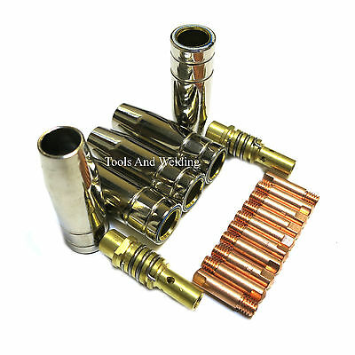 10x0.8mm Sealey mighty mig super mig welder nozzle