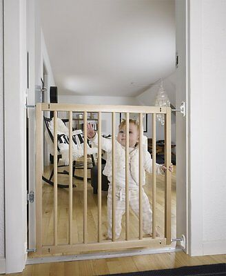 BabyDan Tall Child Dog Baby Gate Safety Toddler No Trip Beechwood Safety Gate M